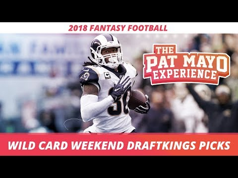 2018 Fantasy Football - Wild Card DraftKings Picks, Preview and Sleepers