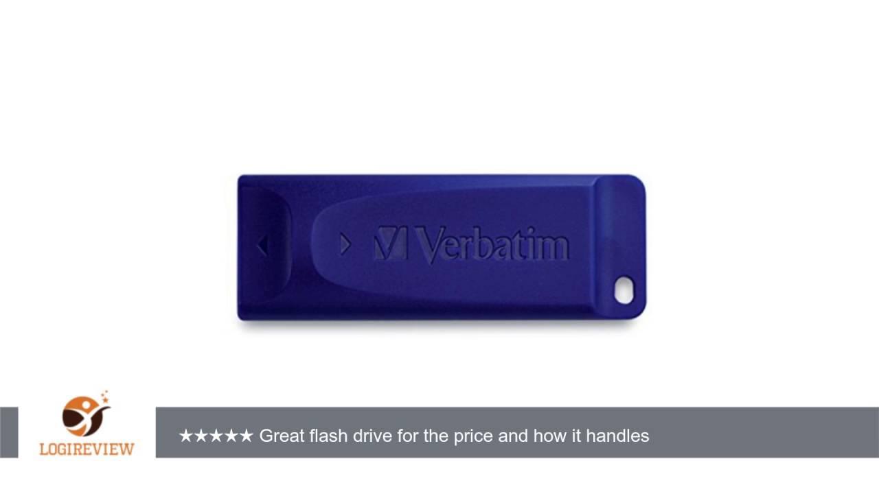 Verbatim 98659 128GB USB Flash Drive  Blue
