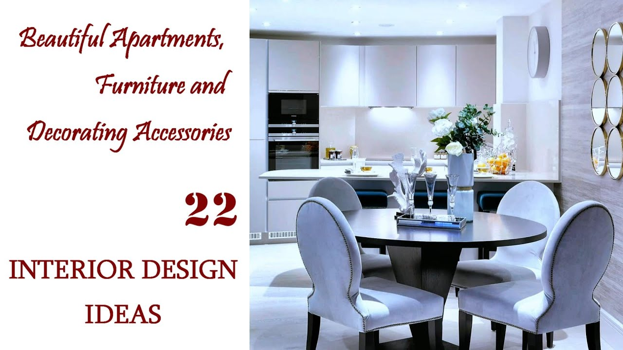 Beautiful Apartments | Furniture and Decorating Accessories | Interior Design Ideas #22
