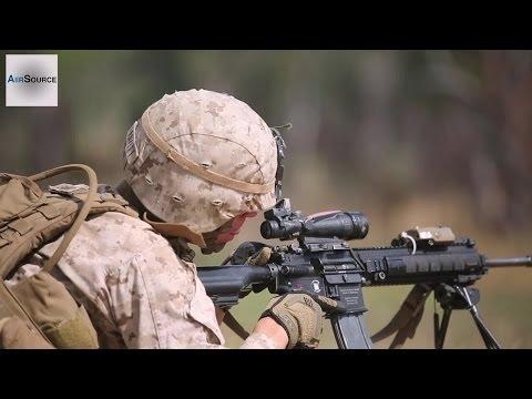 US Marines - Range Live-Fire in Australia