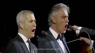 Alessandro Safina with Andrea Bocelli - O sole mio