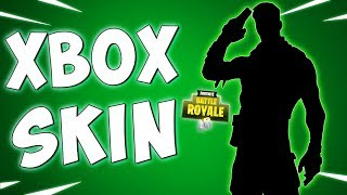 LA NOUVELLE PEAU EXCLUSIVE XBOX IN FortNITE - Fortnite Battle Royale Gameplay