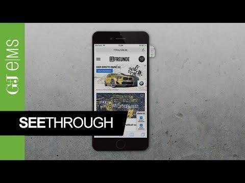 SeeThrough | BMW | Rich Media Ad Special | G+J e|MS