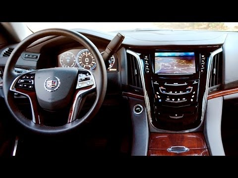Cadillac 2015 Cadillac Escalade Interior Youtube