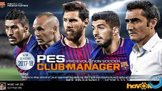 Strategy And Tactical '' TIKI-TAKA '' for PES CLUB MANAGER 2018