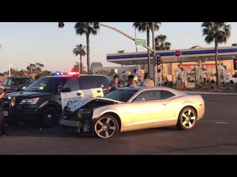 Crash Flips Pickup in Oceanside