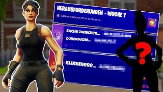 GET ROADTRIP SKIN! 😱🏆 WEEK 7 SOLUTION FORTNITE BATTLE ROYALE [GER/DEU] ✔️