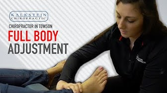 Chiropractor in Towson | Dr  Dalton Treats Patient With Full Body Adjustment & Soft Tissue Work