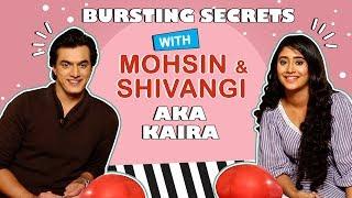 Mohsin And Shivangi Reveal Fun Secrets   Bursting Balloons   1000 Episodes Of Kaira