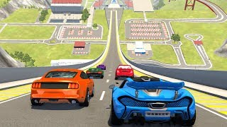 High Speed Jumps&Crashes #43 - BeamNG Drive Realistic Physics