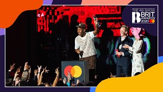 Tyler, The Creator wins International Male Solo Artist | The BRIT Awards 2020