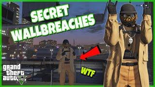SECRET GLITCH/WALLBREACHES AFTER UPDATE (GTA 5 ONLINE