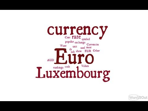 Luxembourg Currency - Euro