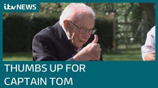 Praise for 'heroic efforts' of Captain Tom Moore, the NHS fundraiser | ITV News