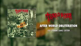 Terrorizer - After World Obliteration (Full Dynamic Range Edition) (Official Audio)