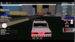 ROBLOX Vehicle Testing Cop Moments D: