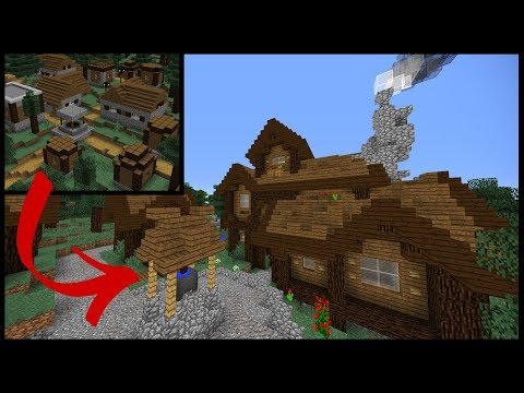 Let's Transform a SPRUCE Minecraft Village!