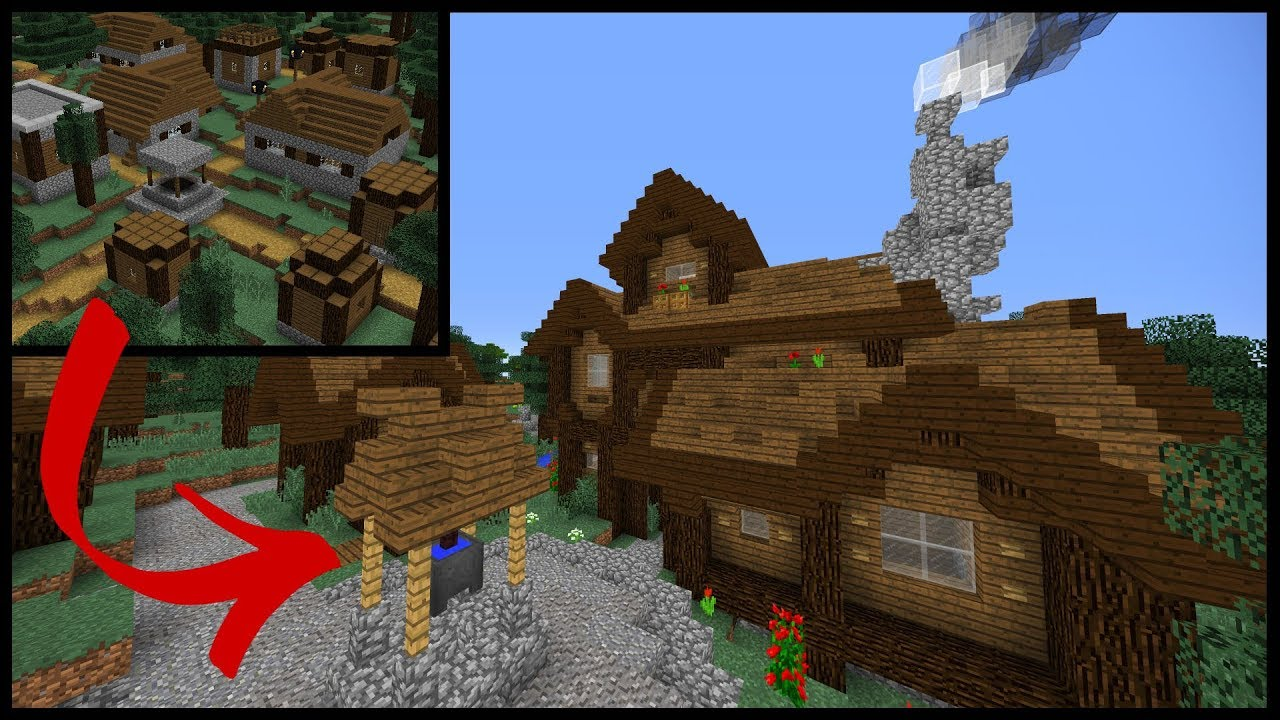 Let S Transform A Spruce Minecraft Village Youtube