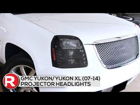 DIY Install: Spec-D Projector Headlights GMC Yukon/Yukon XL (07-14) w/ LED DRL Strip – Black/Chrome