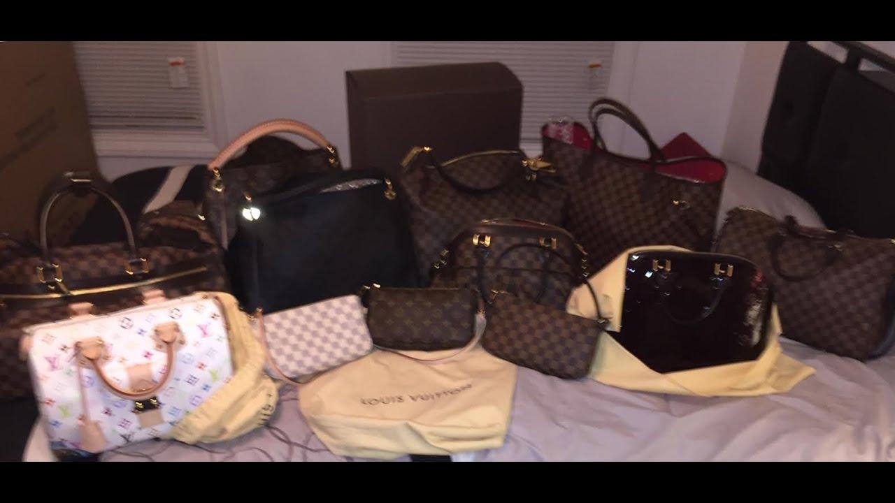 collection louis vuitton bags