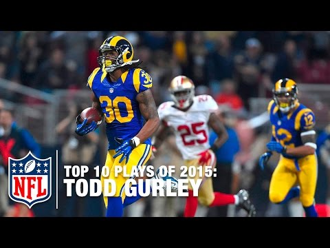 Top 10 Todd Gurley Highlights of 2015 | NFL