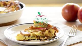 Puffy Baked Apple Pancake