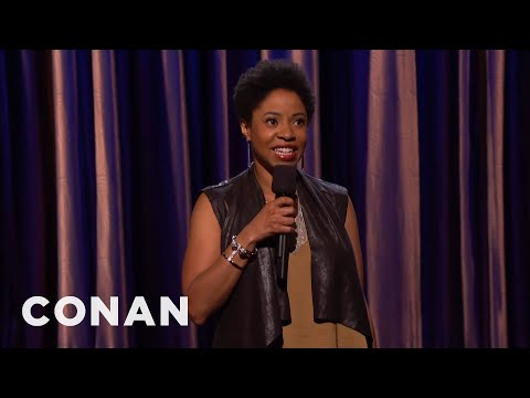 Marina Franklin Stand-Up 08/24/15 - CONAN on TBS - YouTube