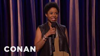 Marina Franklin Stand-Up 08/24/15  - CONAN on TBS
