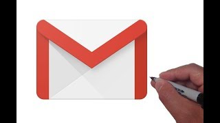 How to Draw the Gmail Logo