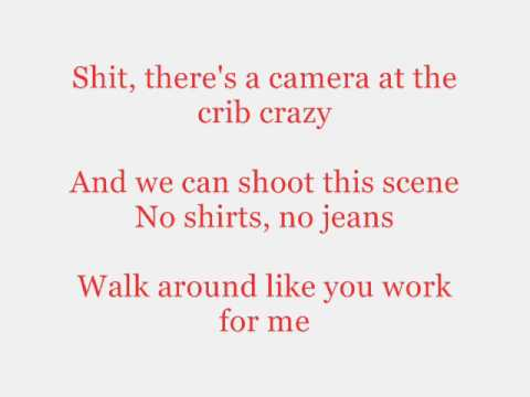 Trey Songz - paper planes  w/ lyrics