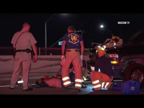 Santa Ana Fiery Freeway Crash