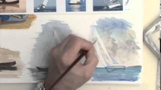 Acrylic Figures Lesson - Boats at Rest & Afloat