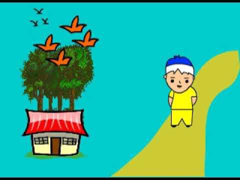 Animasi Berasaskan Peribahasa Bagai Aur Dengan Tebing Youtube