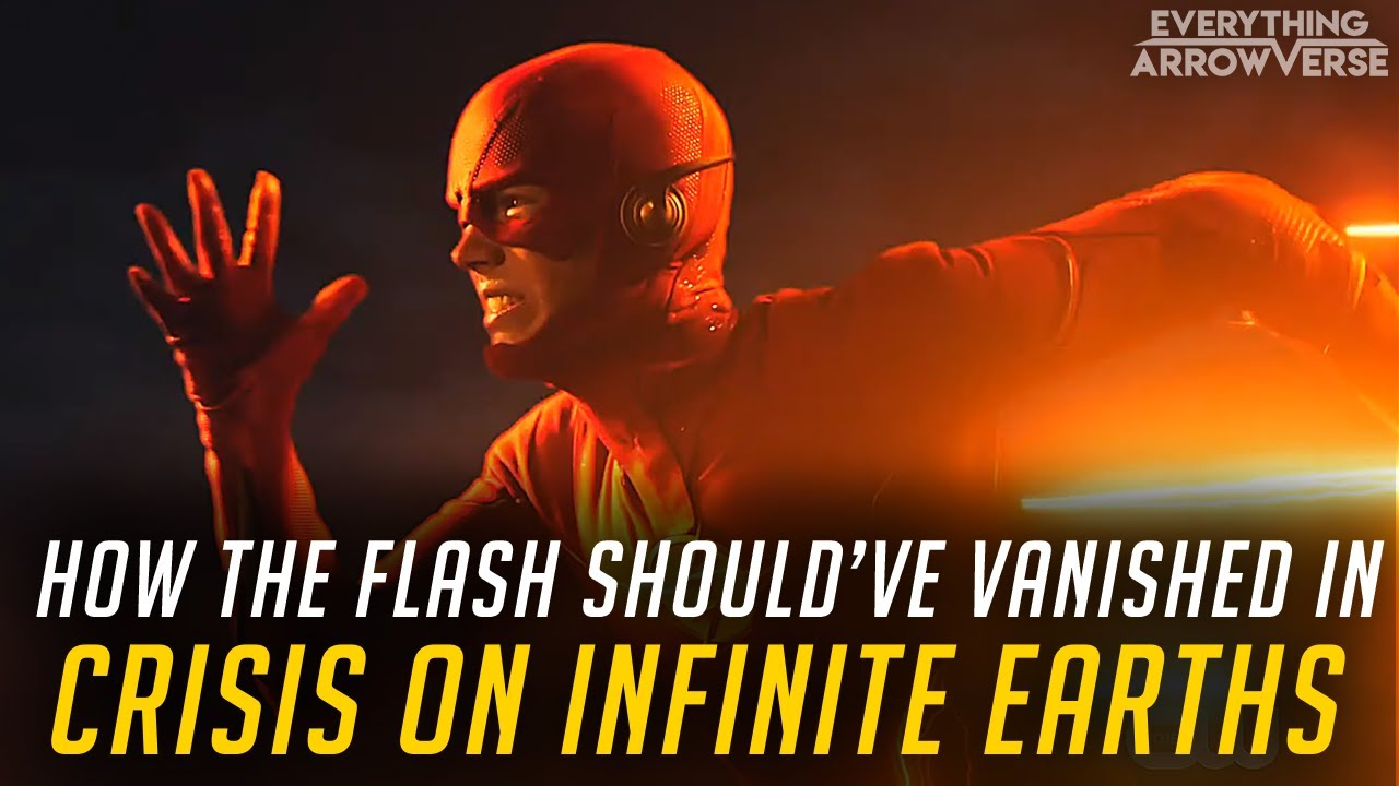 Download How the Flash should've vanished in Crisis on Infinite Earths (Series Finale Concept)