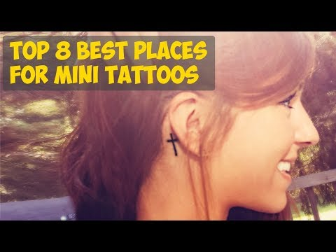 TOP 8 Best Places For Mini Tattoos