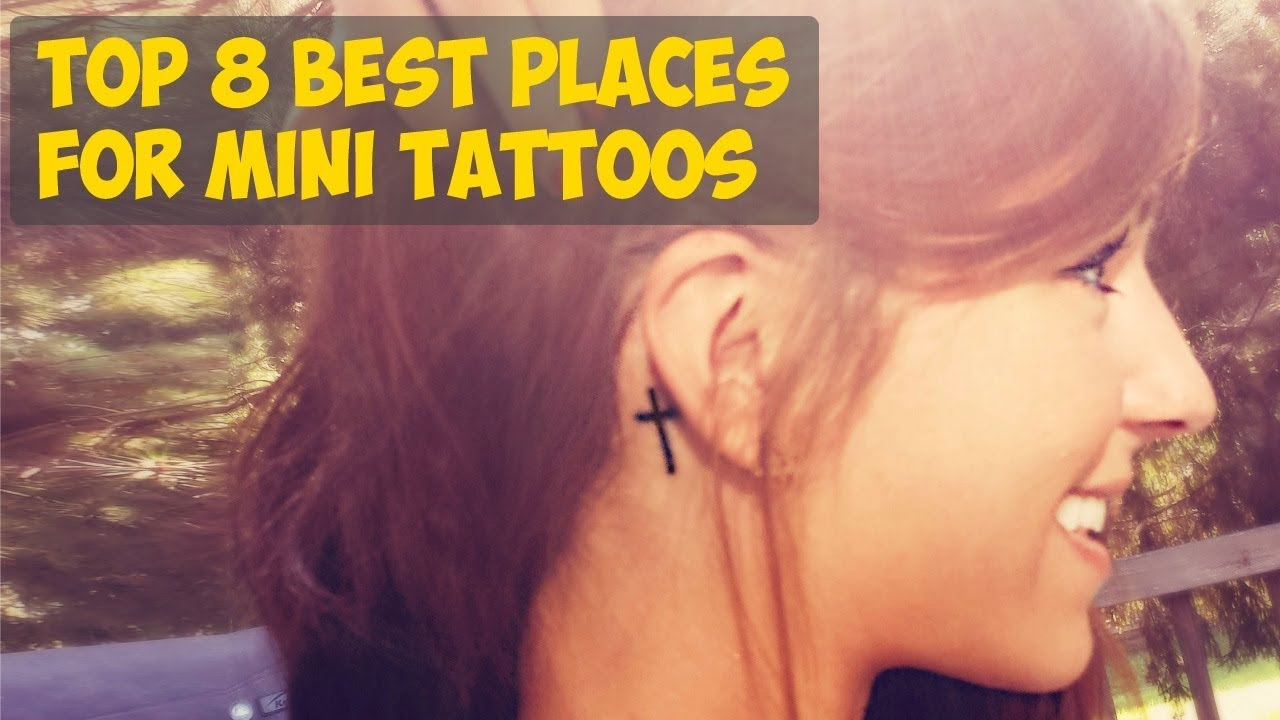 27210c0ef TOP 8 Best Places For Mini Tattoos - YouTube