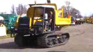Tracked Dumper hire USA DUMP TRUCK on rubbertracks