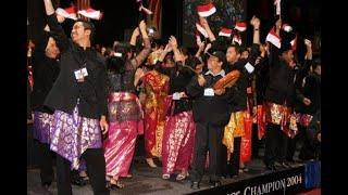 Elfa Singers - World Champion (INDONESIA JUARA) Jazz & Pop Choir Category, China 2006