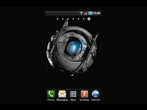 Droid eye in space live wallpaper youtube - Droid live wallpaper ...