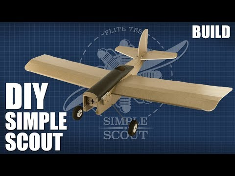 DIY FT SIMPLE SCOUT - Build | FLITE TEST