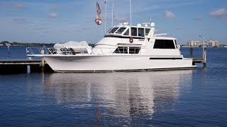 60' Viking Sport Yacht Walkthrough
