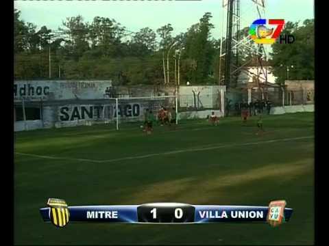 Primer gol de Villafañe - Final del Torneo Anual Mitre vs Villa Unión