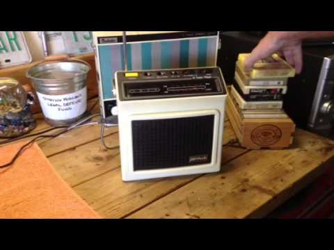 Seville 8-Track Player/Radio #5401R8P