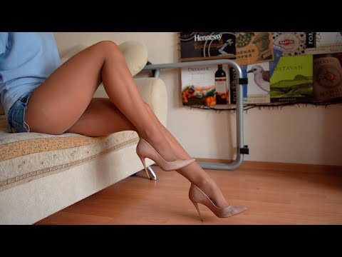 Dangling shoeplay nylons silver high heels from YouTube · Duration:  45 seconds