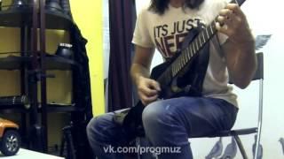 Техника переменного штриха. String Skipping (Переход со струны на струну)