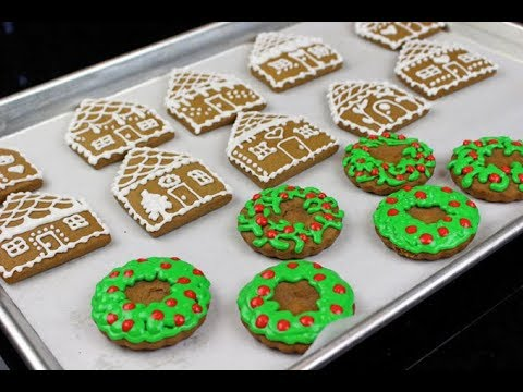 How to Make Gingerbread Cookies || 12 days of Christmas Cookies Part 12