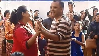 Gagan Thapa Dance With His Family