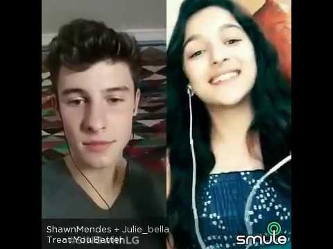 Shawn mendes  y julie bella treat you better