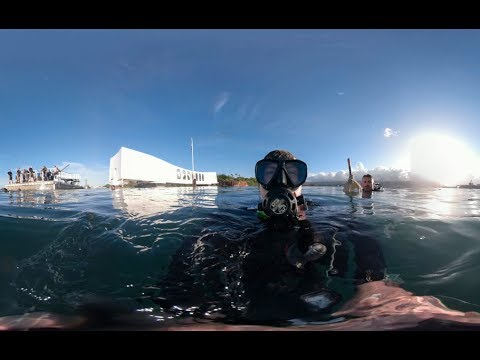 Navy Clearance Divers invited to dive iconic memorial