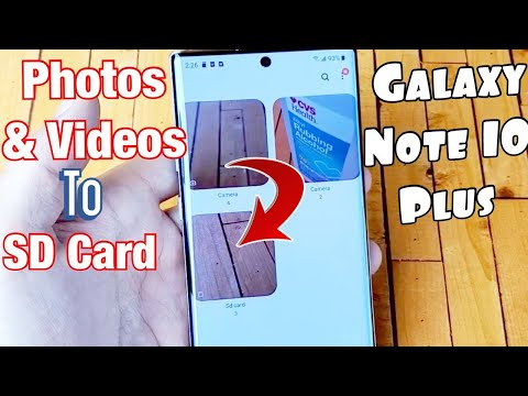 Galaxy Note 10+ : How To Move/Copy Photo & Videos To SD Card + Tips & Tricks